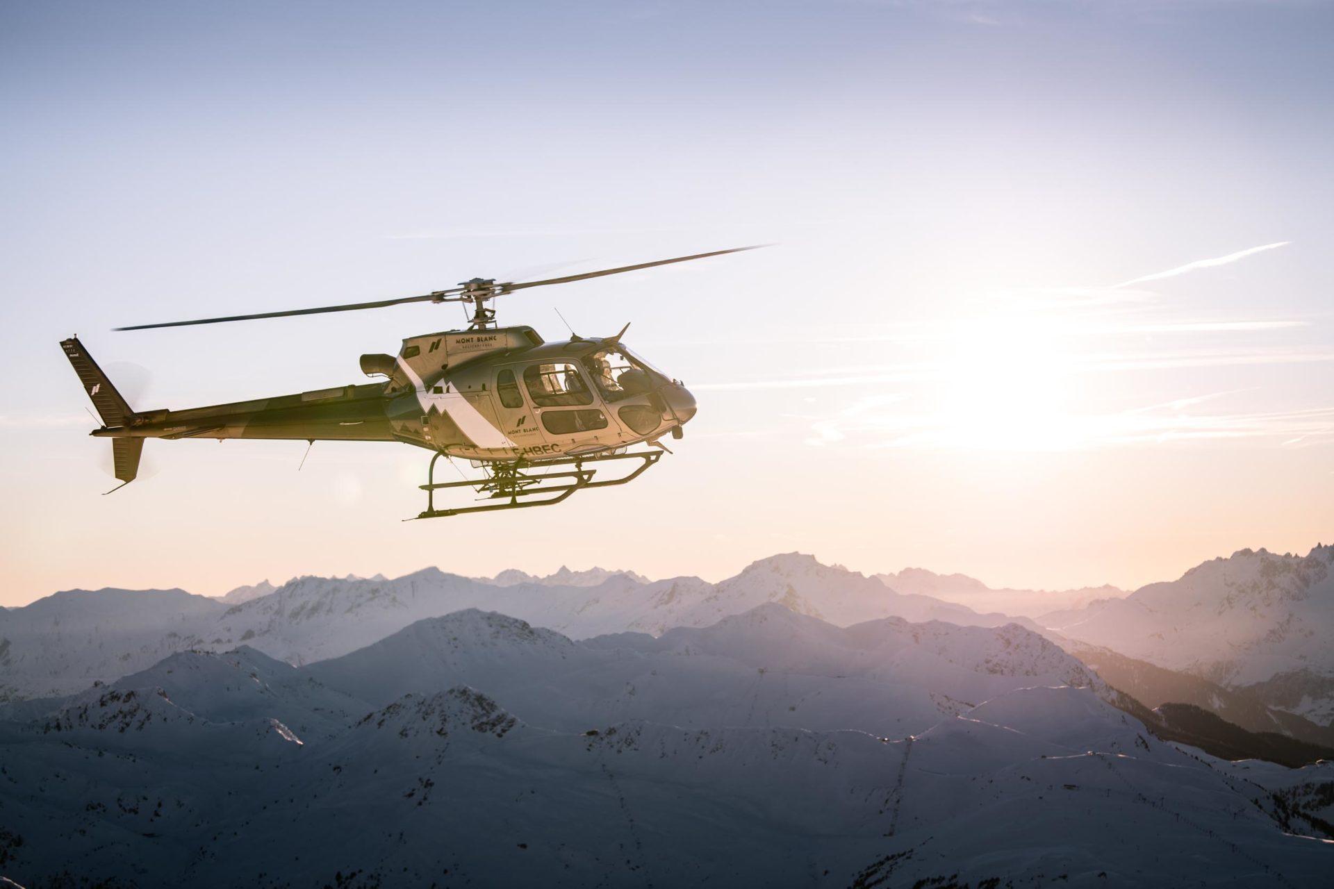 Vols Autres Bases | Mont Blanc Hélicoptères Paris