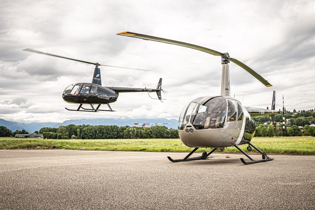 Helicopters - ROBINSON R44 - Mont Blanc Hélicoptères Grenoble