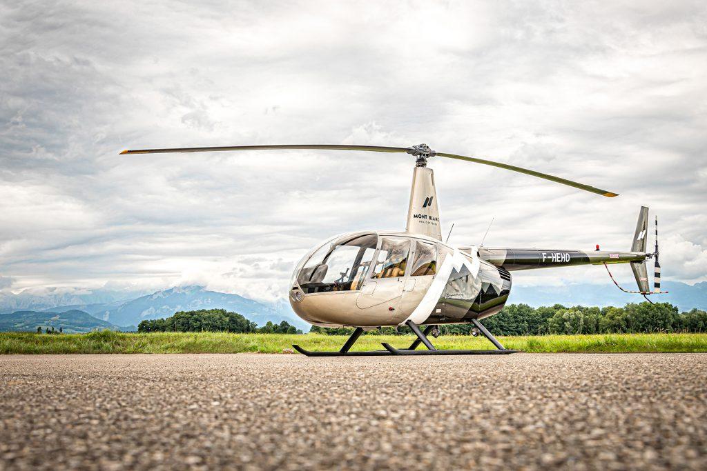 Initiation & école de pilotage - Vol d'initiation au pilotage - Mont Blanc Hélicoptères Grenoble